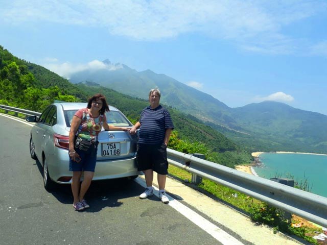 da nang hue car tour