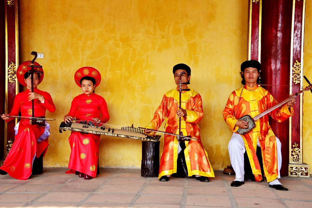 Hue royal music – Nha Nhac Hue