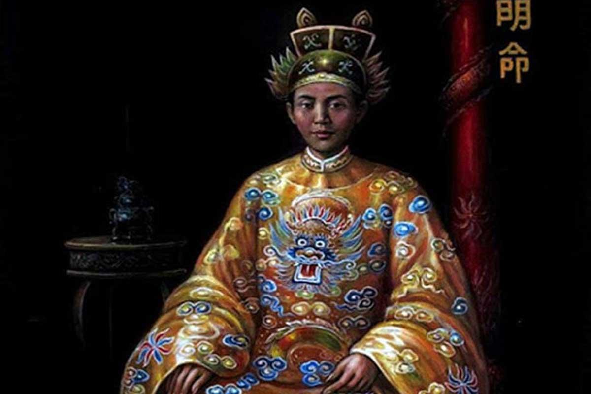 Minh Mang emperor's coronation day