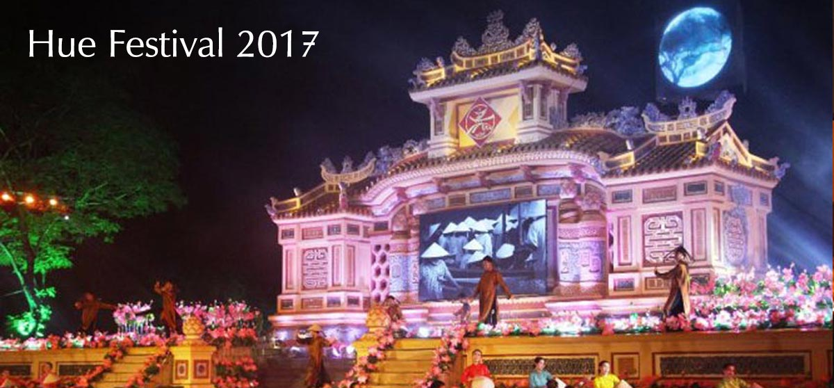 Opening Ceremony of Traditional Hue – Hue Festival 2017