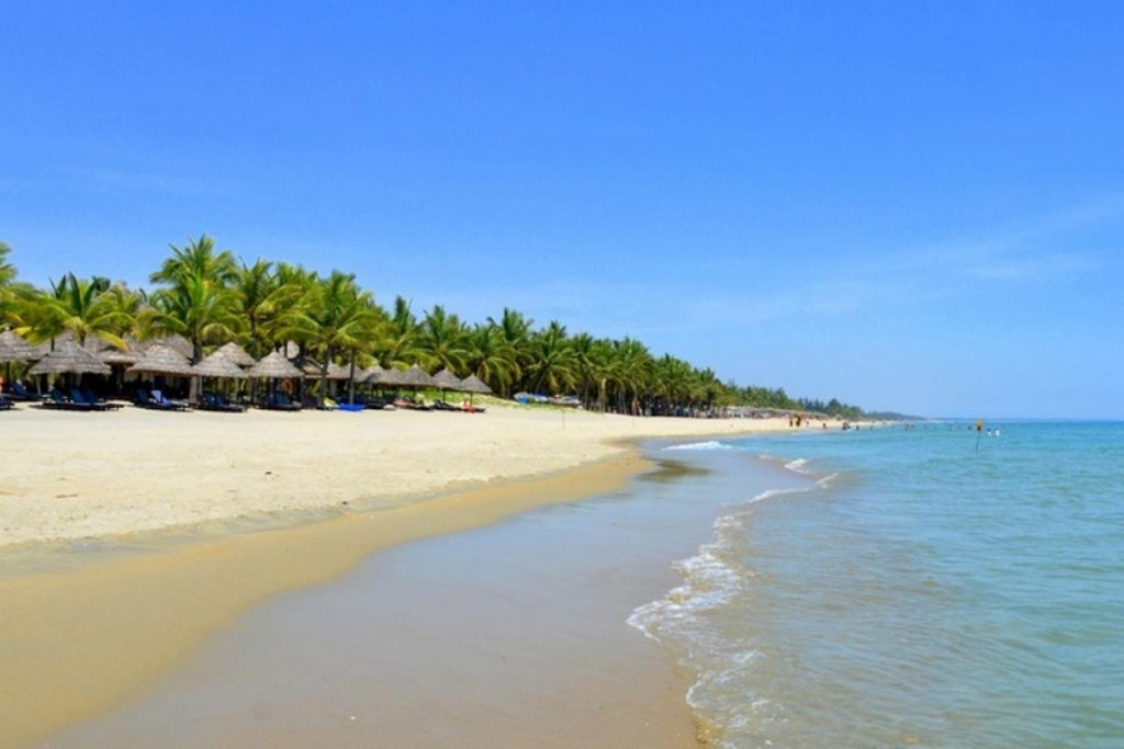 Cua dai beach in hoi an