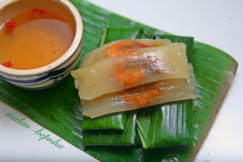 Banh Loc Goi - Tapioca Dumplings