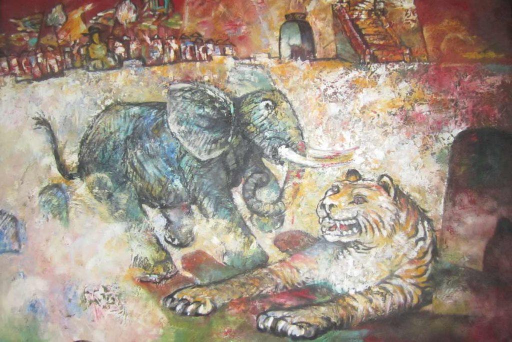 Hue tiger arena Ho Quyen
