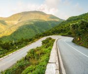 Hai Van pass is the majestic scenery road in VIetnam