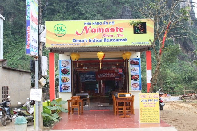 Namaste Indian Restaurants in Phong Nha
