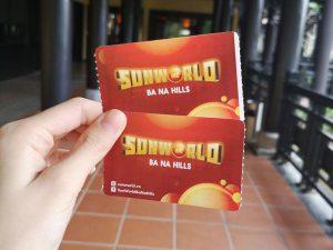 Bana hills entrance ticket