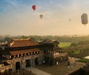 Vietnam balloons ride in Hue