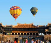 Vietnam balloons tour in Hue 2