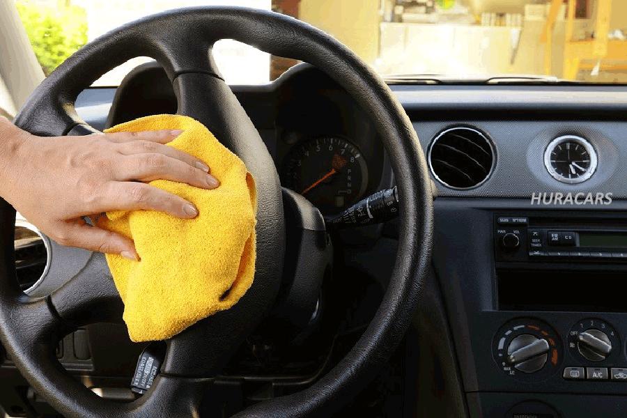 clean the car during corona virus