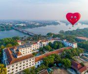 Balloons over Hue