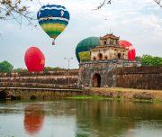 hot air balloon tour vietnam