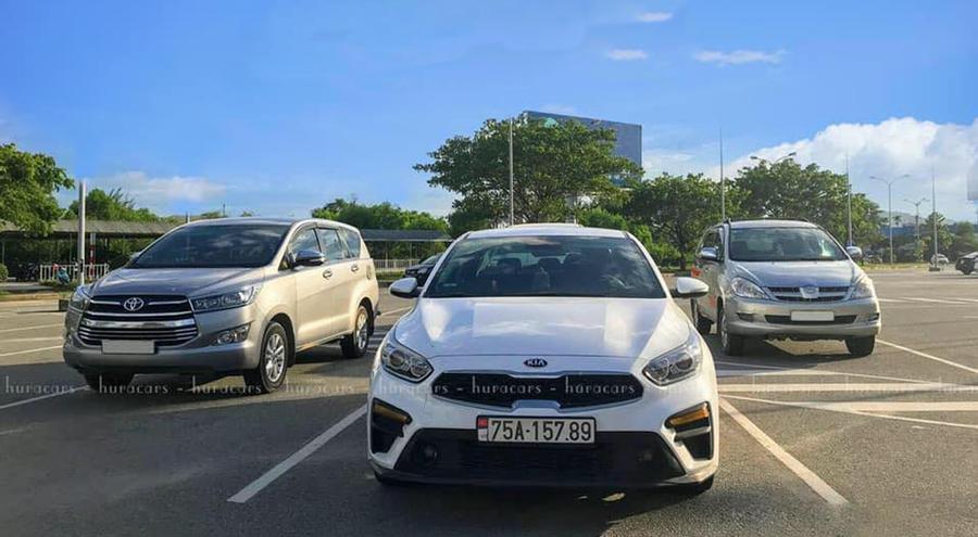 Xe riêng đón tiễn sân bay Phú Bài