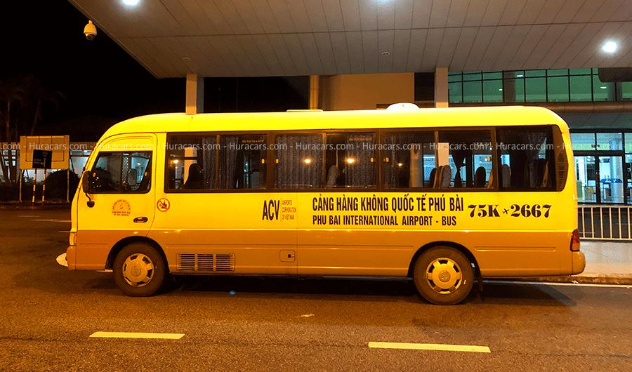 Xe trung chuyển sân bay Phú Bài Huế
