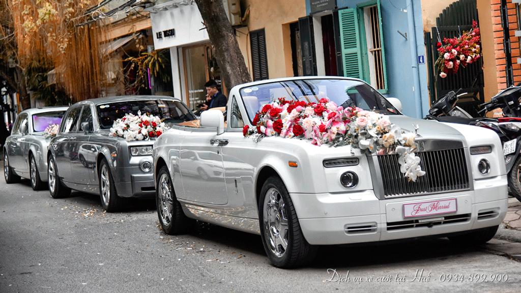 Dịch vụ xe cưới cao cấp